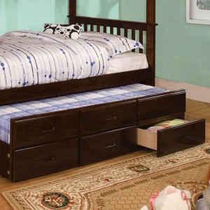 University Twin Trundle Bed with 3 Drawers