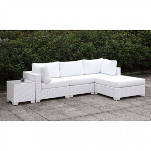 Somani II L-Sectional w/Right Chaise & Coffee Table