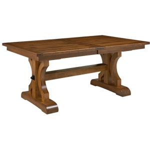 "Caspian 72"" x 42"" Table w/1 leaf"