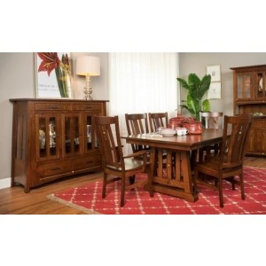 AMI 8PC CASTLEBROOK DNG W/BUFFET