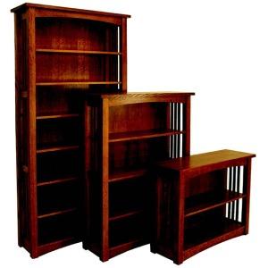 Bungalow Mission Bookcase