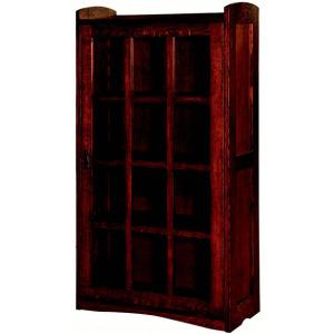 Bungalow Mission Door Bookcases