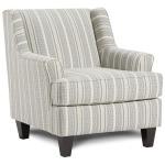 Farmhouse Indigo Accent Chair