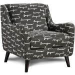 Poetry Iron Accent Chair