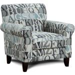 Anecdote Blue Chair