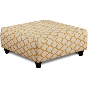 Cash Citrine Cocktail Ottoman