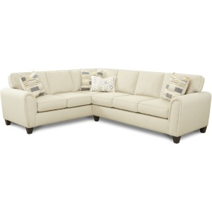 Max Linen 2 PC Sectional