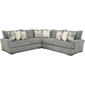 Handwoven Slate 4 PC Sectional