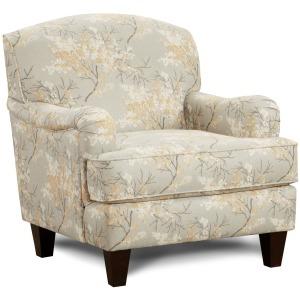 Cherry Blossom Cornsilk Chair