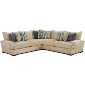 Handwoven Linen 3 PC Sectional