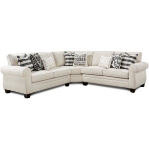 Popstich Shell 3 PC Sectional
