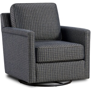 Austin Indigo Swivel Glider Chair