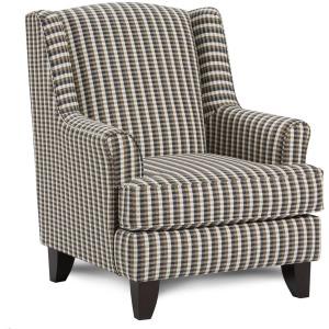 Chelsea Indigo Accent Chair