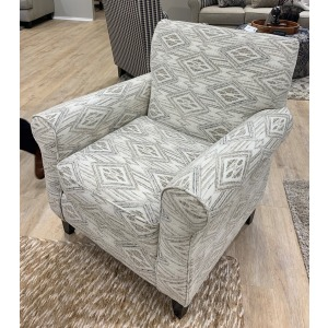 Western Front Blanco Accent Chair