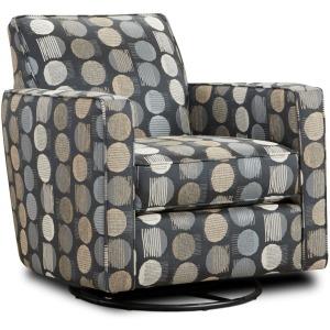 Magnitude Steel Swivel Glider Chair
