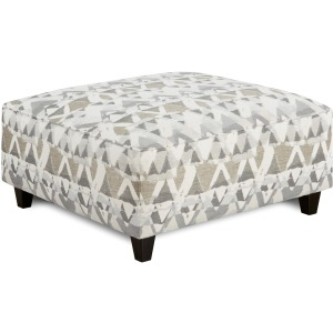 Mountain View Cement Cocktail Ottoman