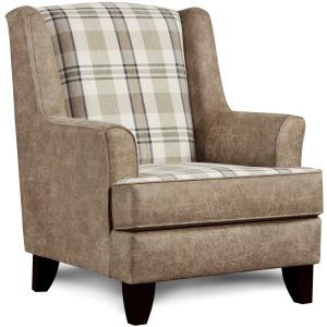Northwest Paloma Grey Gwynn Glass Chair