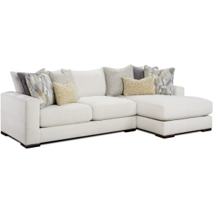 Braxton Ivory 2 PC Sectional