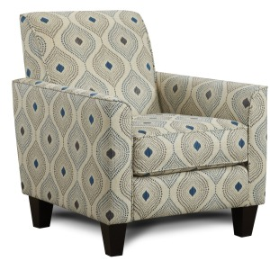 Electric Blue Accent Chair