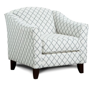 Muse Blue Accent Chair
