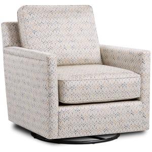 Theta Citron Swivel Glider Chair