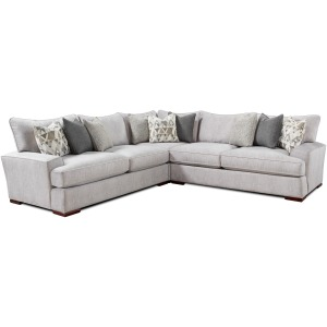 Alton Silver 3 PC Sectional