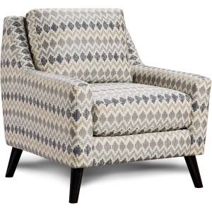 Chickasaw Silver Accent Chair