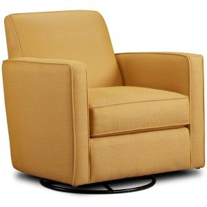 Swivel Glider Chair - Gold Mine Citrine