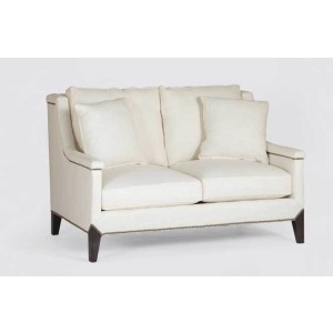 Liam Loveseat Settee | Custom Tailored
