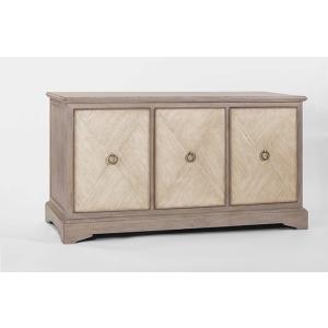 Ansley Parched Oak Cabinet