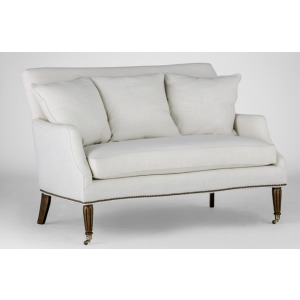 Dahlia Settee | Custom Tailored