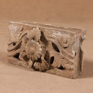 Vintage Architectural Stone Carving