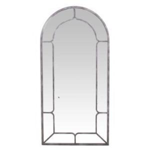 Hanover Mirror -Aged Iron