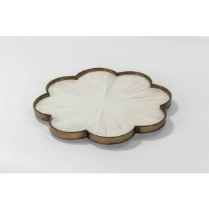 Finley Faux Horn Tray – Set of 2