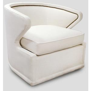 Monroe Swivel Chair   Custom Tailored