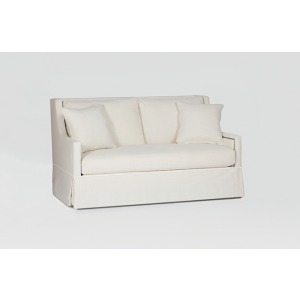 Helena Loveseat Settee | Custom Tailored