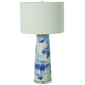 Elmwood Table Lamp – Blue