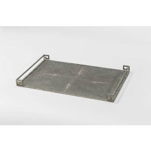 Jasper Shagreen Tray – Set of 2