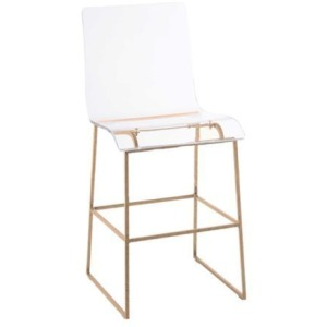 King 24.75″ Counter Stool – Gold