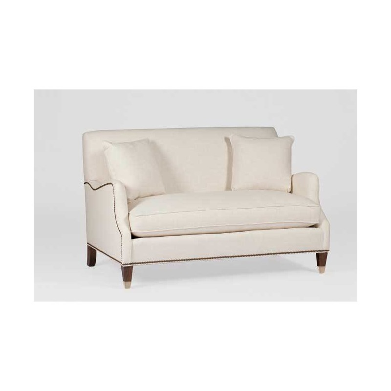 Lincoln Loveseat Settee | Custom Tailored