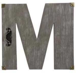 Plaque - M