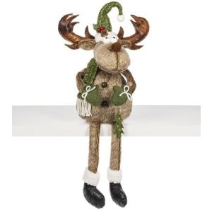 Merry Chris-Moose Figurine -Small
