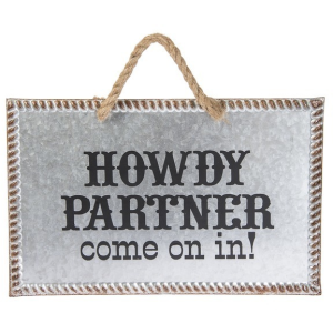 Wall Sign - Howdy Partner