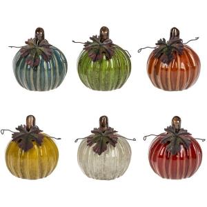Pumpkin Figurines -6PC