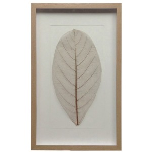 Natural Leaf w/Wood Frame
