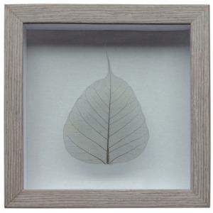 Grey Leaf w/Gray Frame