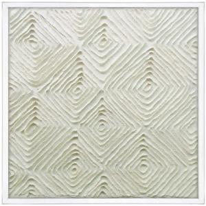 Paper Art w/Acrylic Frame