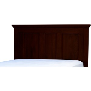 Brentwood Queen Panel Headboard - Sunset