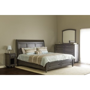 Charlton Queen Bedroom Set - Mineral