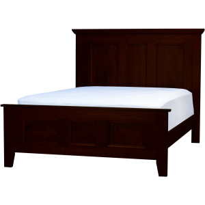 Brentwood Queen Bed - Cherry Sunset